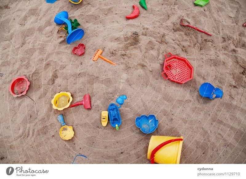 Bisschen buddeln Kind Farbe Freude Leben Spielen Sand Lifestyle Freizeit & Hobby Design Kindheit Beginn Kreativität Zukunft lernen Idee Wandel & Veränderung