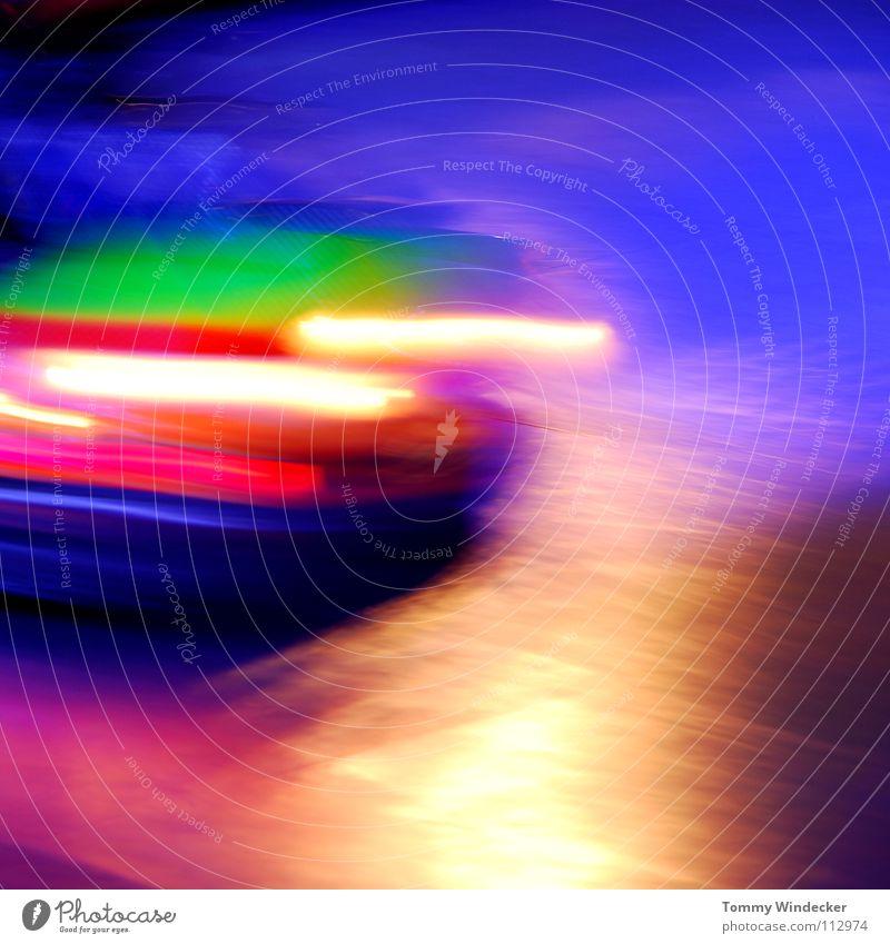 Drunkenness Auto-Skooter Jahrmarkt mehrfarbig Fahrgeschäfte Karussell Weihnachtsmarkt Schausteller Freizeit & Hobby Kollision fahren gelb kindlich