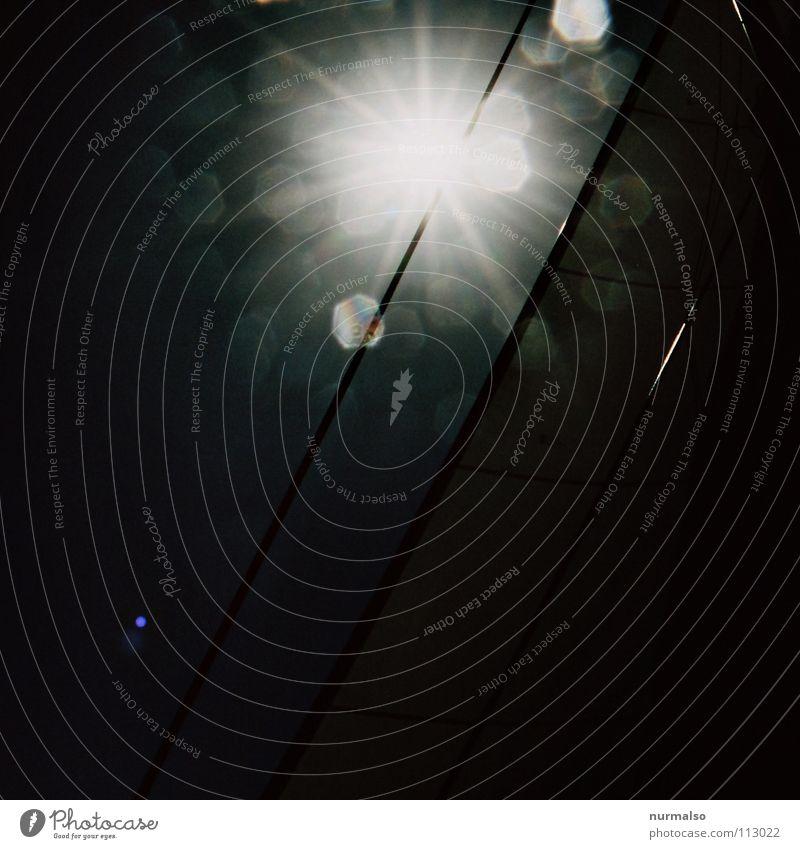 Gute Nacht Stern Gegenlicht Licht spritzen Wasserfahrzeug Meer Segeln Segelboot Meerwasser Gischt Wellen Freude Herbst Langzeitbelichtung Sonne Lichterscheinung