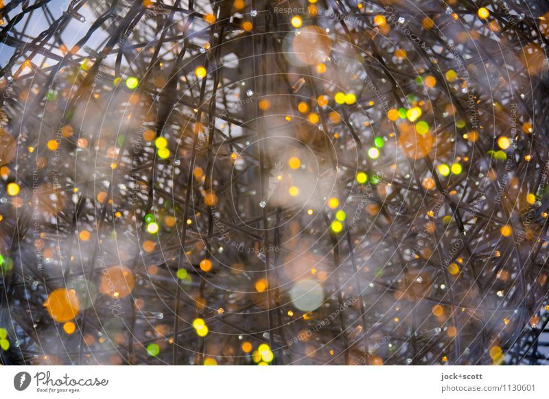 Treffpunkte Glück Hintergrundbild Zeit außergewöhnlich Linie Zusammensein glänzend leuchten Kraft groß Wandel & Veränderung Punkt Unendlichkeit Weltall viele