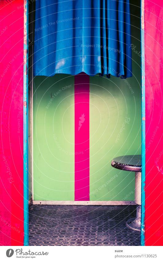 Foto, aber fix! Lifestyle Stil Design Freude sparen Technik & Technologie Platz einfach lustig retro Geschwindigkeit Vorhang Sitz Fotografieren Automat