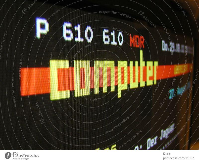 videotext Fernseher Text Video Elektrisches Gerät Technik & Technologie Computer