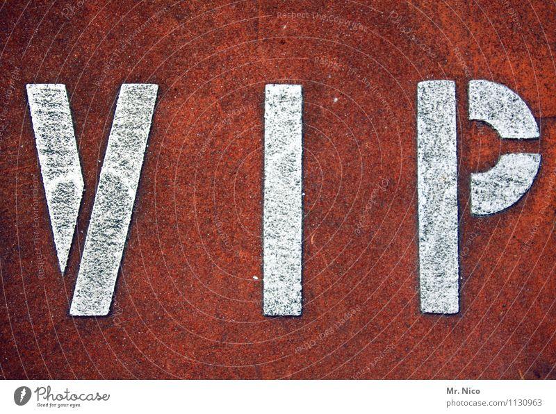 *1000* Very Important Photo Ferien & Urlaub & Reisen weiß rot Stil Feste & Feiern Lifestyle Party Freizeit & Hobby Schriftzeichen einzigartig Buchstaben