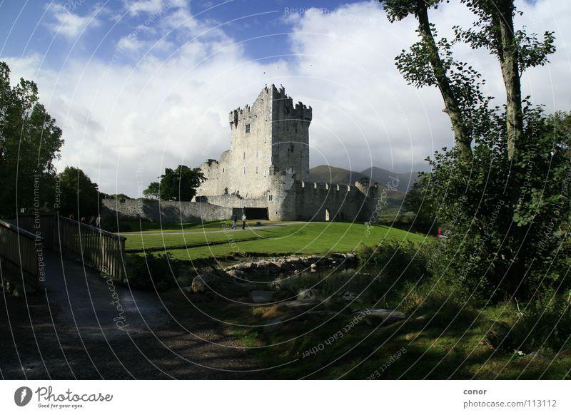 Burg in Irland Ferien & Urlaub & Reisen historisch Republik Irland Sommertag