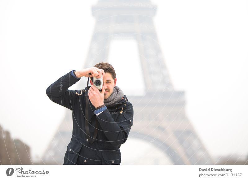 1000 | Bilderjäger Ferien & Urlaub & Reisen Tourismus Sightseeing Städtereise Fotokamera maskulin Mann Erwachsene Körper Mensch 18-30 Jahre Jugendliche