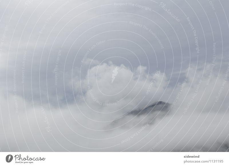 skyhigh II Himmel Natur Ferien & Urlaub & Reisen Erholung Landschaft Wolken ruhig Ferne Berge u. Gebirge Umwelt Freiheit Wetter Luft Tourismus Wind hoch