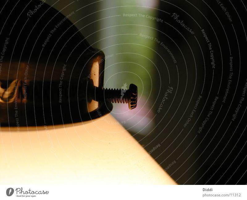 Festhalter Lampe Schraube Fototechnik Messing