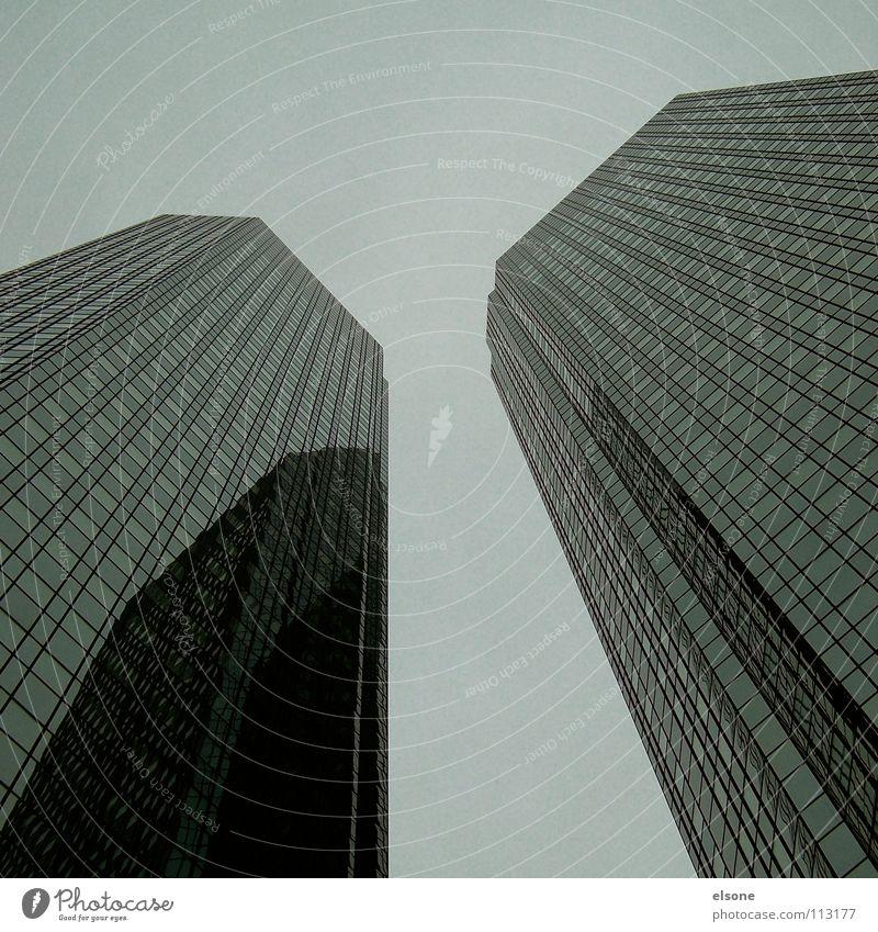 ::ZWILL_INGE:: Hochhaus Institut glänzend Gebäude Haus reich Stadt Frankfurt am Main modern Dienstleistungsgewerbe Turm neu Glas Metall hoch brunk Angeben Bild
