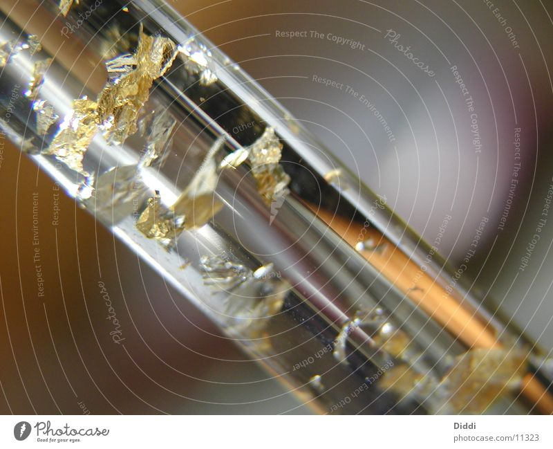 Glaseinschluss Metall Fototechnik