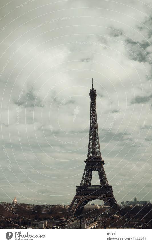 Bonjour Paris Stadt ästhetisch Hauptstadt Wahrzeichen Sehenswürdigkeit Tour d'Eiffel