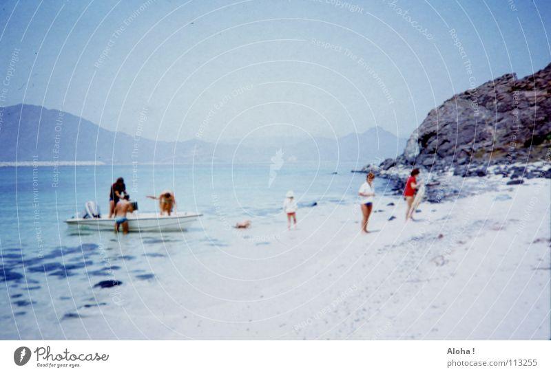 Cast Away / ohne Tom Hanks und Wilson Wasser schön Ferien & Urlaub & Reisen Meer Strand Freude Erholung Gefühle Küste Sand träumen Freundschaft Wasserfahrzeug