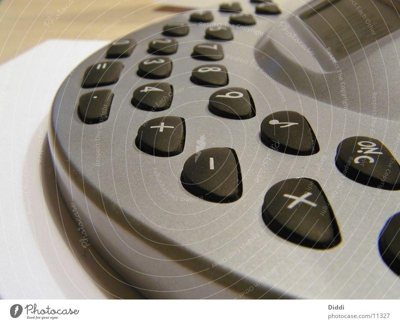 Rechner Elektrisches Gerät Technik & Technologie rechnen Ziffern & Zahlen berühren