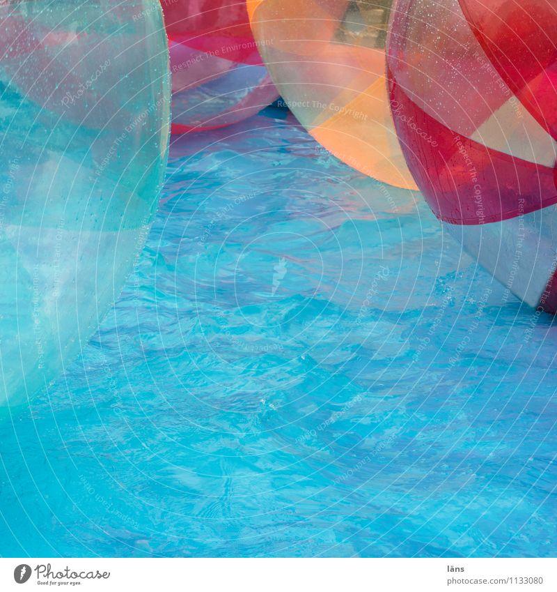spielspaß Wasser Freude Schwimmbad Ball türkis