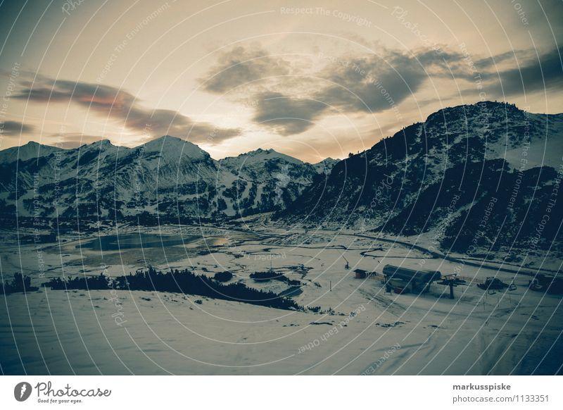 obertauern AT Ferien & Urlaub & Reisen Erholung ruhig Ferne Winter Berge u. Gebirge Schnee Feste & Feiern Freiheit Zufriedenheit Eis Freizeit & Hobby Tourismus