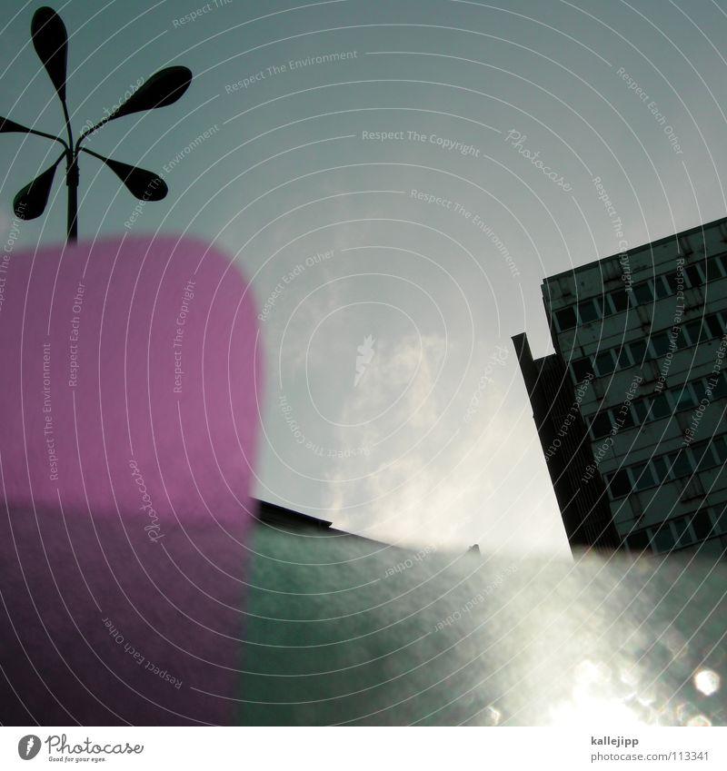 festplatte Himmel Stadt Pflanze Blume Haus Farbe Wand Fenster Architektur Lampe Beleuchtung Raum rosa leer Ecke Häusliches Leben
