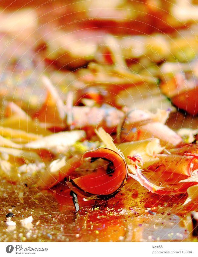 bleistiftmüll weiß schwarz Holz Kunst Arbeit & Erwerbstätigkeit Freizeit & Hobby dreckig Hintergrundbild gold Bild Spitze streichen schreiben Müll Kreativität