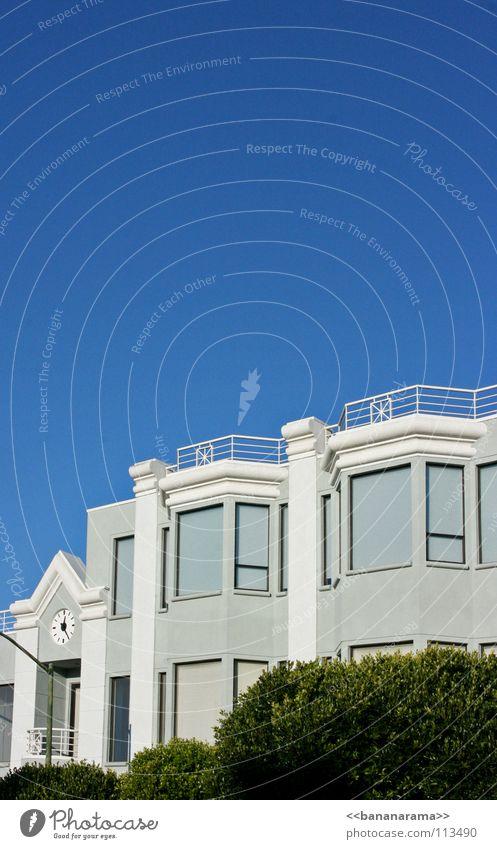 hyde street schön Himmel blau Wohnung USA Sträucher Sauberkeit Häusliches Leben San Francisco