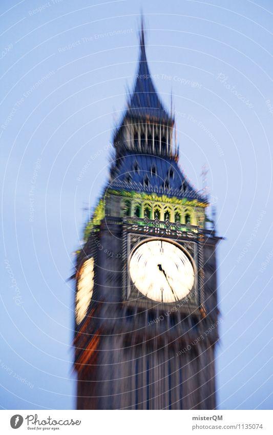 Städtetour. Kunst ästhetisch Großbritannien London London-Marathon Big Ben Städtereise Fernweh Urlaubsort Uhr Ewigkeit zeitlos Stadt Sehenswürdigkeit
