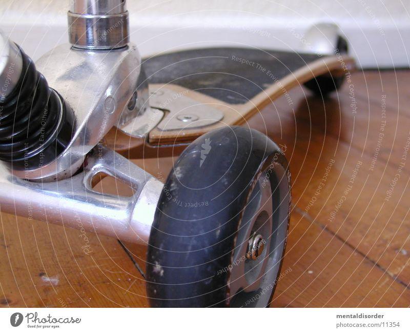 mein Kickboard springen Stil Verkehr fahren Feder Rad Mobilität Holzbrett Schraube Rolle Bremse