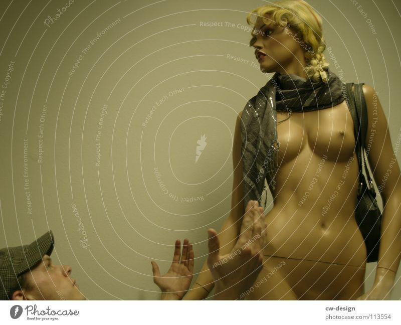 hammer Frau Mensch Mann Hand schön Freude Einsamkeit Liebe nackt Stil Beine träumen Mode Kunst lustig 2