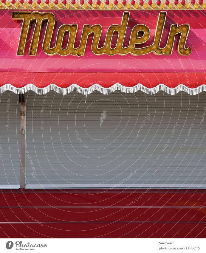 legga! Lebensmittel Süßwaren Ernährung Duft Mandel Jahrmarkt Buden u. Stände Logo Schriftzeichen genießen Lampe Buchstaben Wort Lamellenjalousie Markise