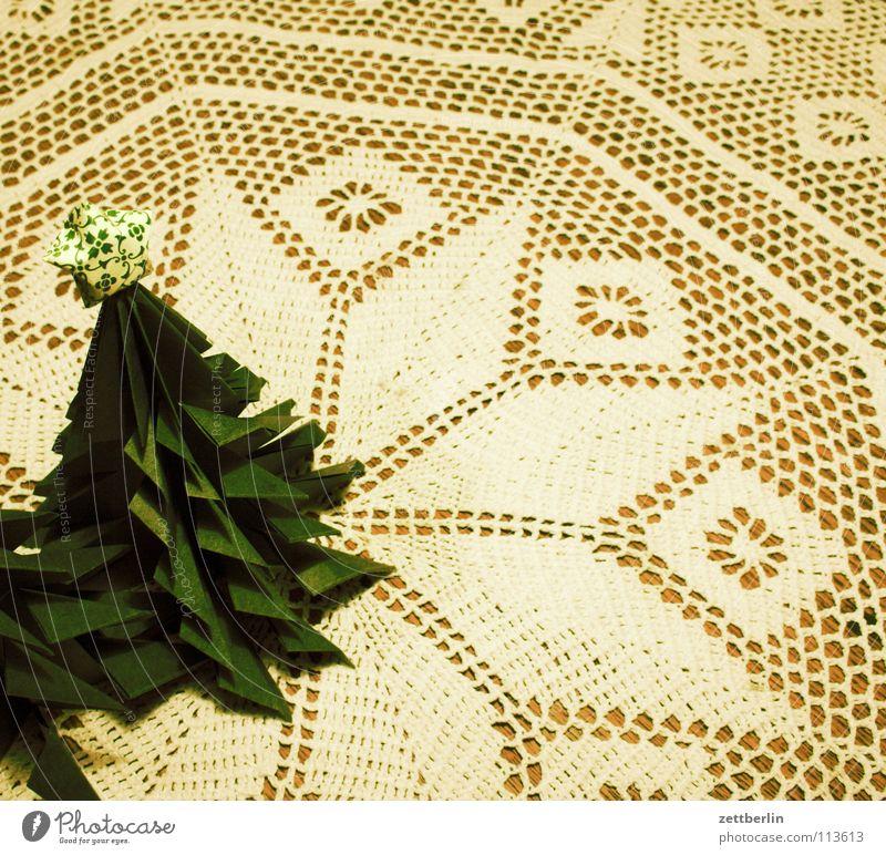Advent, Advent Weihnachten & Advent Fröhlichkeit Vorfreude Tisch Handwerk Weihnachtsbaum Papier Weihnachtsdekoration Schmuck verschönern Hauptsaison Winter