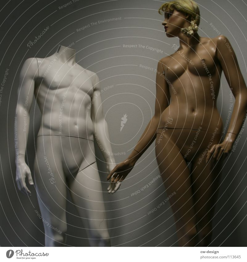 fühl dich frei Stil schön Körper Gesicht Dekoration & Verzierung Mensch maskulin Frau Erwachsene Mann Partner Brust Arme Hand Beine Kunst Ausstellung Mode