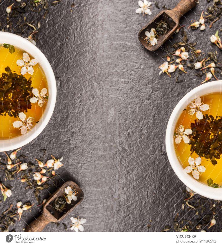 Grüner Jasmin Tee Lebensmittel Getränk Tasse Stil Design Gesunde Ernährung Wohlgefühl Erholung Duft Pflanze Blume Hintergrundbild jasmine Chinese aromatisch