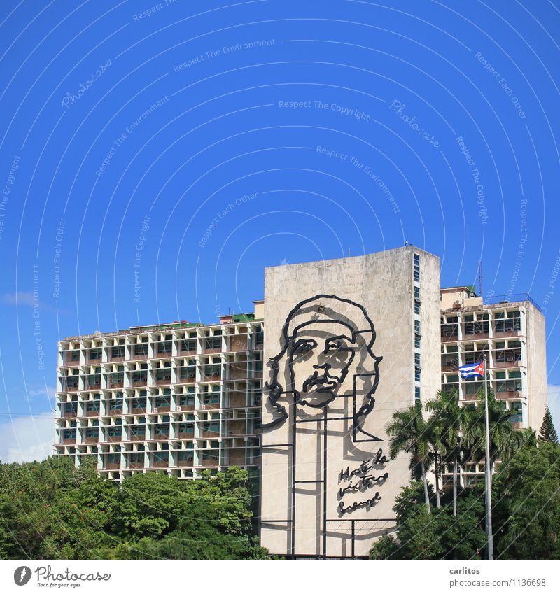 ¡Hasta la victoria siempre! Ferien & Urlaub & Reisen Architektur Gebäude Kuba Revolution Verwaltung Havanna Platz der Revolution