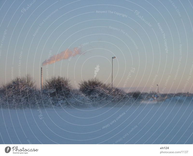 _winter-rauch weiß Nebel Rauch