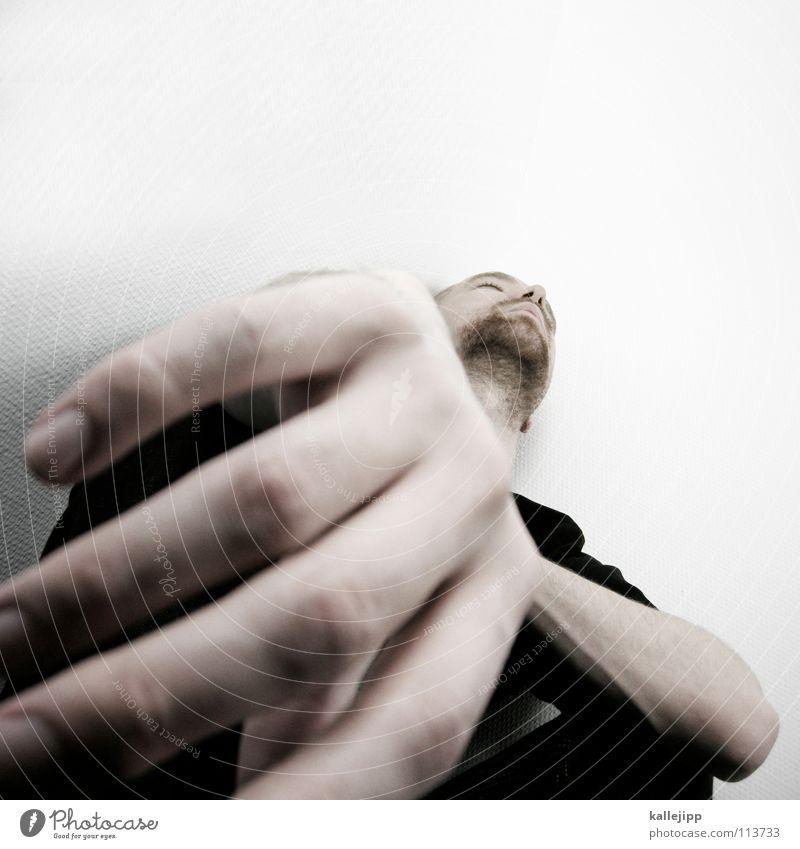 spider-martin Mann Freude Auge Erholung Tod Gefühle Haare & Frisuren Denken träumen Mund Nase schlafen verrückt Coolness T-Shirt Sehnsucht