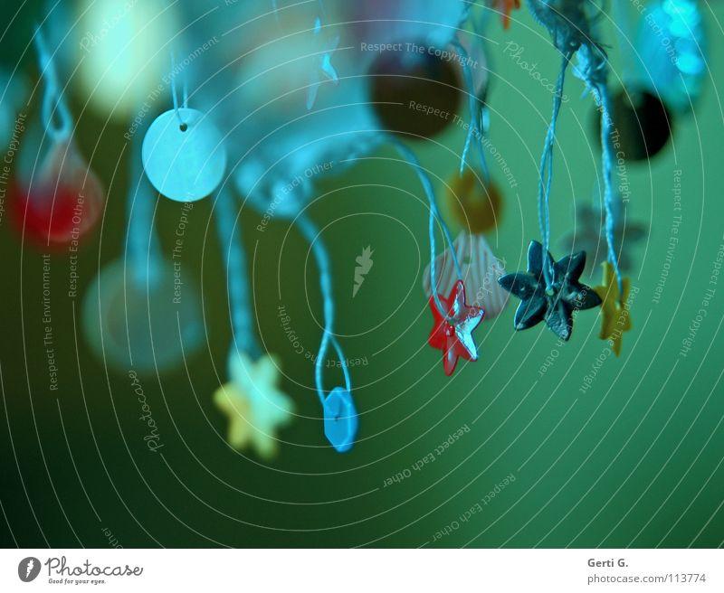 palimpalam Weihnachten & Advent weiß grün blau rot gelb Feste & Feiern Kunst rosa Stern (Symbol) Stoff Handwerk Tiefenschärfe Tradition Türkei