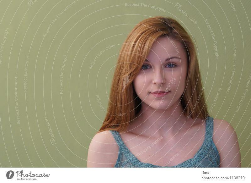 pZ2 l ...ich habe einen Traum Mensch Jugendliche schön Junge Frau ruhig 18-30 Jahre Erwachsene Leben feminin natürlich Stil Glück Haare & Frisuren Kopf träumen