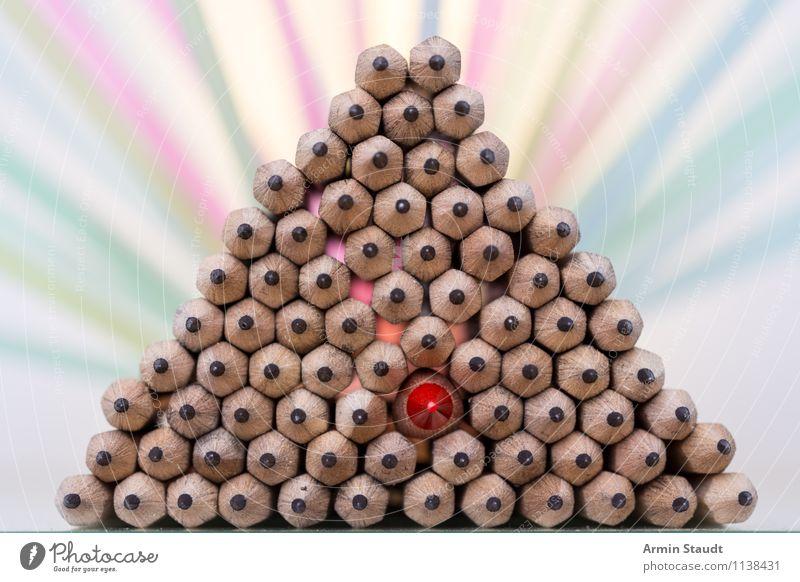Star der Pyramide Einsamkeit rot Beleuchtung Stil Hintergrundbild außergewöhnlich Lifestyle Design ästhetisch Spitze einzigartig viele Stillleben Geborgenheit