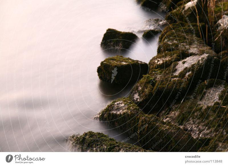 märchen steine Wasser Bewegung Stein Küste Felsen Wachstum Fluss Bach erleuchten mystisch fließen Brandung Reaktionen u. Effekte Strömung
