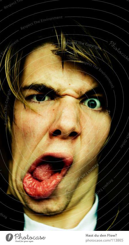 BOTOX Mensch blau weiß schön schwarz Gesicht Auge sprechen Kopf Haare & Frisuren Traurigkeit braun Haut maskulin Nase verrückt