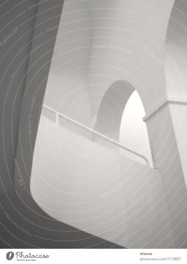 ::CLEANNESS:: schön weiß Haus grau Gebäude hell Raum Zusammensein Architektur gehen elegant laufen Beton Studium Treppe