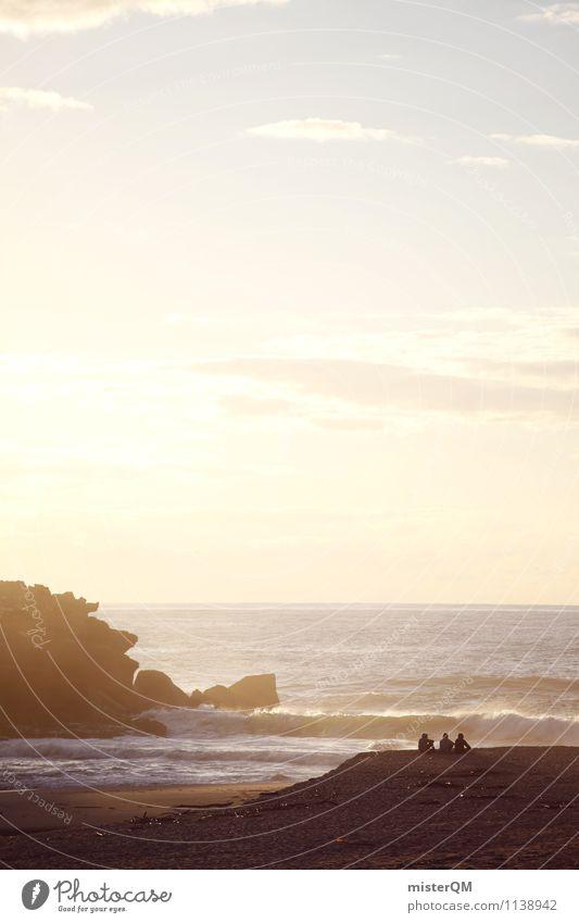coffee brick I Kunst ästhetisch Zufriedenheit Surfer Ferien & Urlaub & Reisen Urlaubsfoto Bucht Brandung Urlaubsort Urlaubsstimmung Urlaubsgrüße Portugal