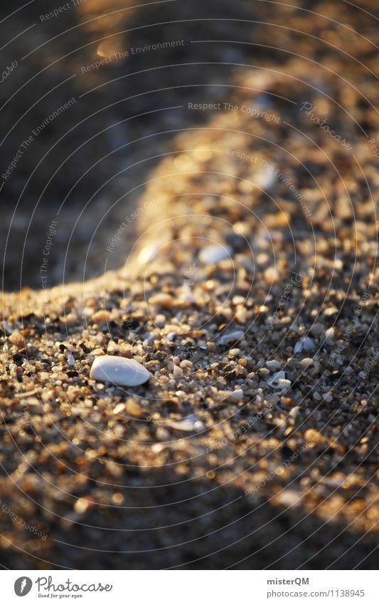 Sandy, wie sandig am Strand. Kunst ästhetisch Zufriedenheit Muschel Muschelform Muschelsand Muschelschale Sandstrand Strandspaziergang Urlaubsstimmung