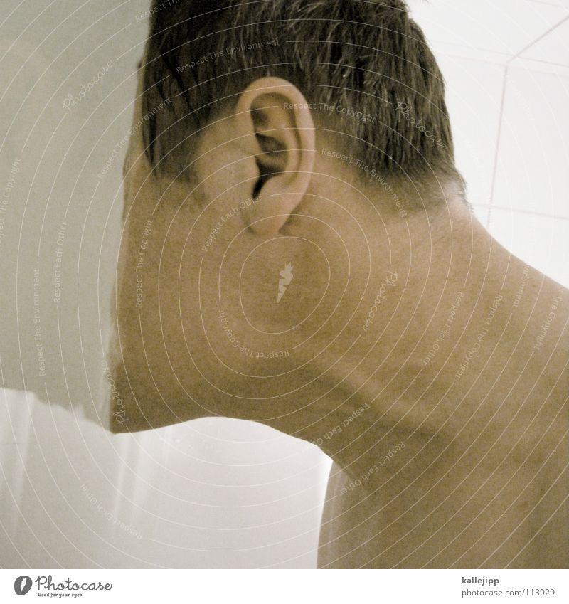 alle meine... Mann Wasser Gesicht Tod kalt Wege & Pfade Haare & Frisuren Kopf Erde Haut nass Wassertropfen planen Klarheit Bad trinken