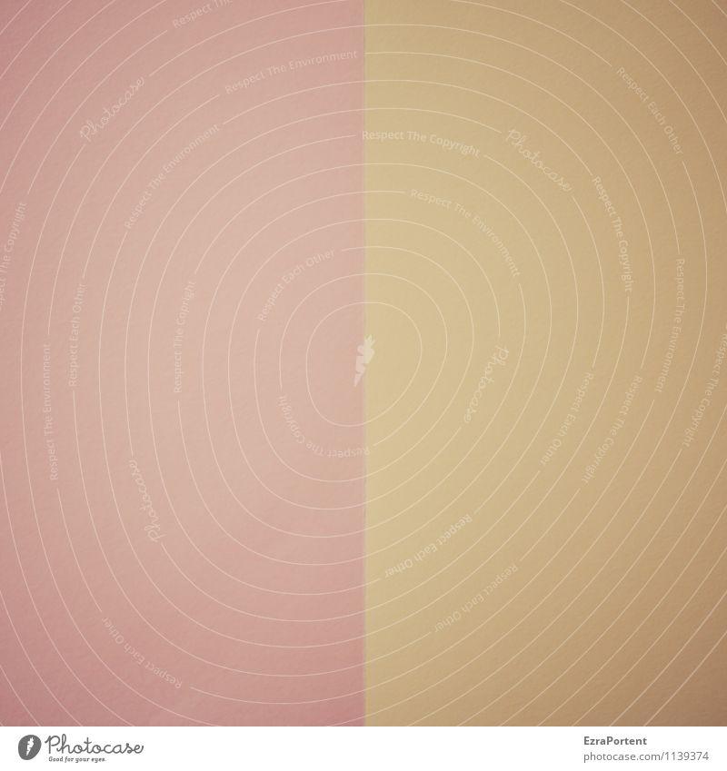 R(b)|G(d) Stil Design Linie Farbe Grafik u. Illustration Grafische Darstellung graphisch dezent bleich ausgebleicht Papier zweifarbig Trennung Trennlinie