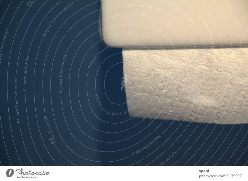 blattweise. Beton einzigartig Klopapierhalter Bad Whitepaper Reinlichkeit Ordnungsliebe Innenaufnahme Menschenleer Textfreiraum links Textfreiraum unten