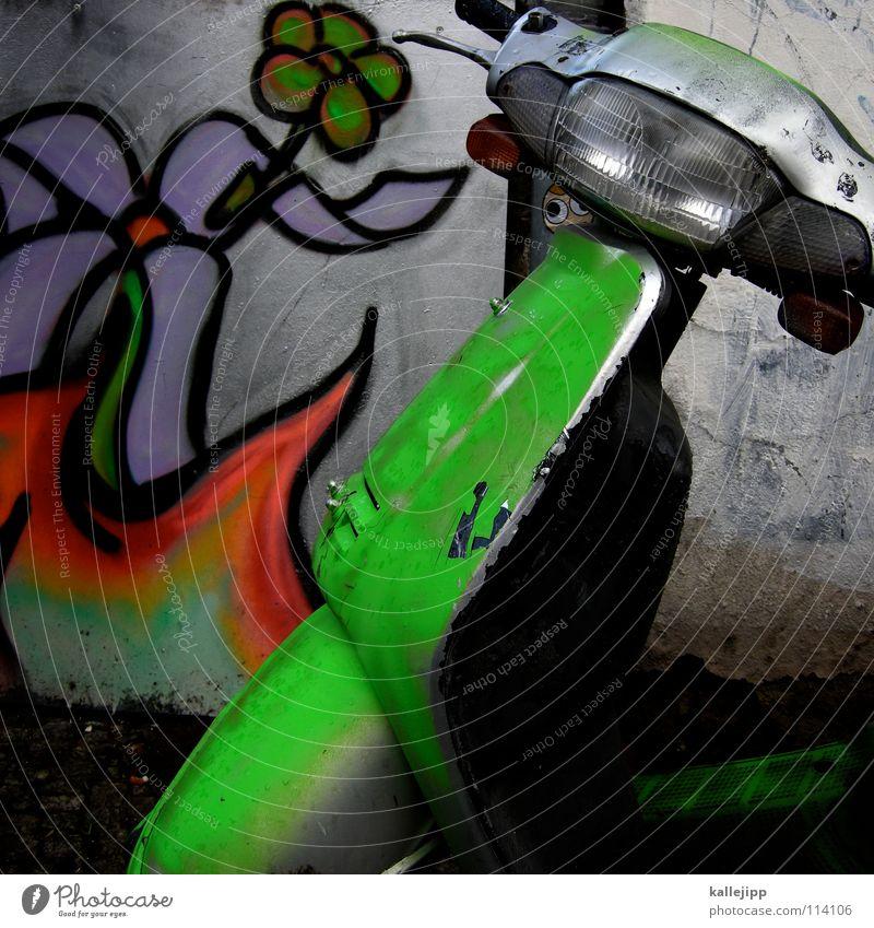 diagonale vielseitigkeit mit 50 ps blau grün Stadt rot Blume Farbe gelb Straße Gefühle Bewegung Mauer Geschwindigkeit fahren Güterverkehr & Logistik Bauernhof