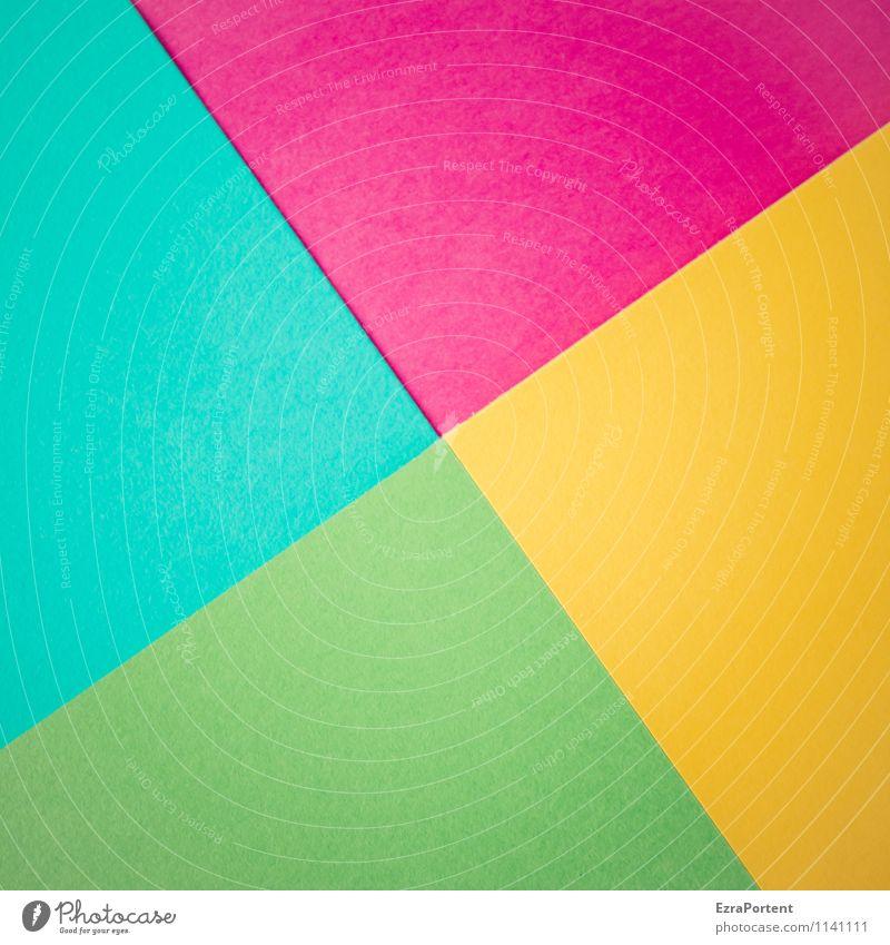 t\v/g\g Design Basteln Linie ästhetisch hell blau grün violett türkis Farbe Grafik u. Illustration Geometrie Trennlinie gerade diagonal Grafische Darstellung
