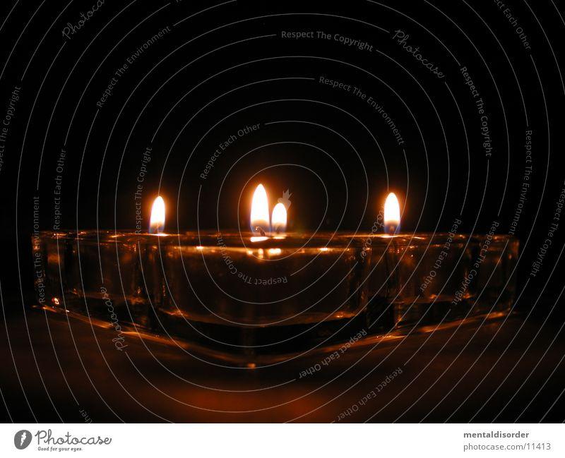 [tee]licht[er] Perspektive Ecke Kerze 4 heiß Tee Club Flamme schwer Prisma