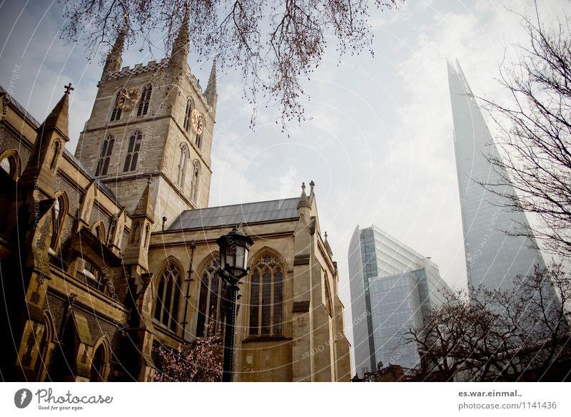 london I Stadt alt Architektur ästhetisch Kirche neu Hauptstadt London