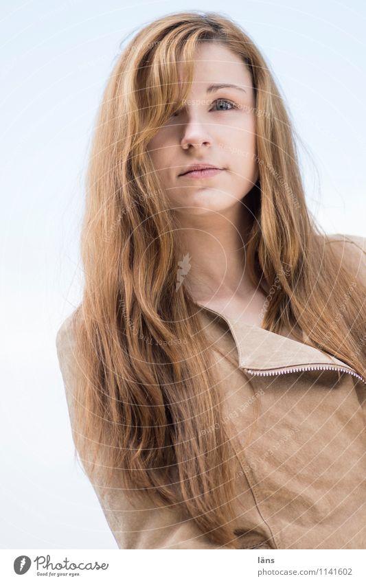 pZ2 l selbst_bewusst Mensch Jugendliche schön Junge Frau 18-30 Jahre Erwachsene feminin Kopf einzigartig Coolness selbstbewußt