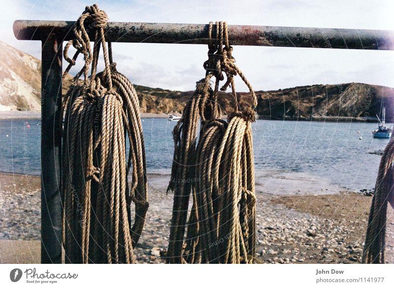Seilschaften Ferien & Urlaub & Reisen Meer Strand Freizeit & Hobby Idylle Insel Ausflug Abenteuer Geländer Bucht Hafen Schifffahrt England Knoten maritim