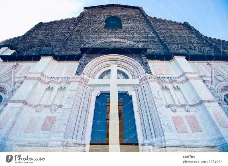 Himmelfahrt Bologna Italien Stadt Kirche Dom Palast Sehenswürdigkeit Religion & Glaube Doppelbelichtung Christliches Kreuz Maria Himmelfahrt Ostern Marmor