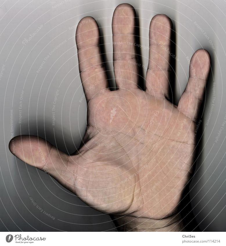 5 Freunde sollt Ihr sein : Myself 3 2 4 Hand Finger Daumen Zeigefinger Ringfinger Mittelfinger Stinkefinger Halt stoppen Nordwalde Mann Warnhinweis Warnschild